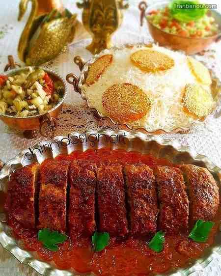 iranbanou19062416 2 - 100 مدل تزیین غذاهای ایرانی و سالاد و دسر