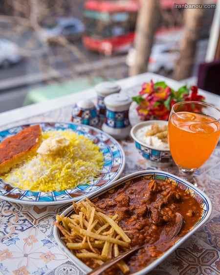 iranbanou19062417 2 - 100 مدل تزیین غذاهای ایرانی و سالاد و دسر