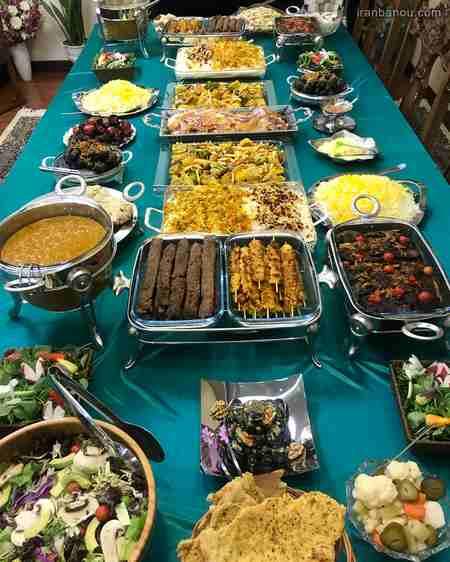 iranbanou19062418 2 - 100 مدل تزیین غذاهای ایرانی و سالاد و دسر