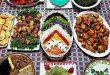 دیزاین میز غذای شیک ایرانی