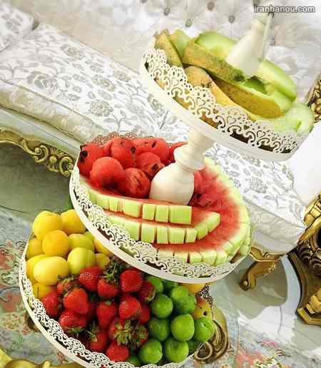 میوه آرایی با هویج
