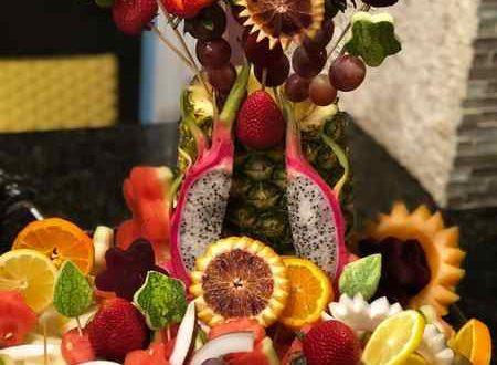 میوه آرایی تولد | تزیینات  زیبای همه میوه ها