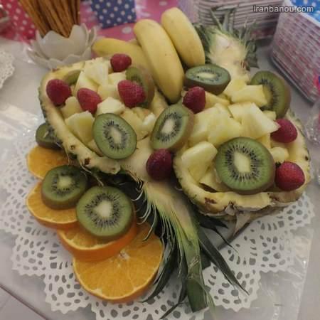 تزیین میوه برای تولد بزرگسال