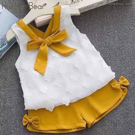 لباس دخترانه بچه گانه با گیپور