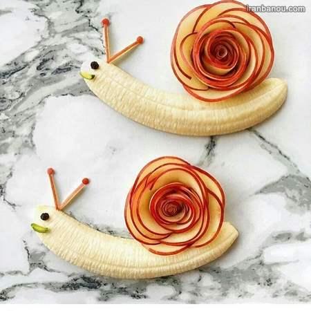 آموزش میوه آرایی هندوانه