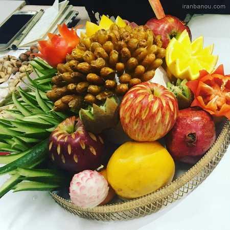 فیلم میوه آرایی هندوانه
