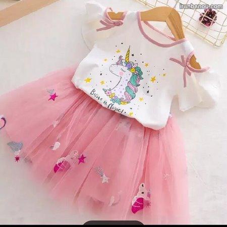 لباس دخترانه بچه گانه دیجی کالا