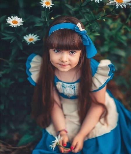 دختر بچه خوشگل ایرانی