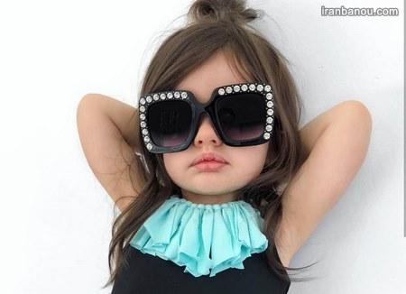 عکس دختر بچه خوشتیپ