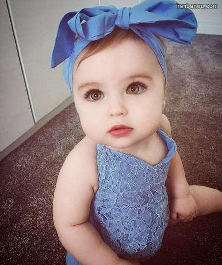عکس دختر بچه ی زیبا
