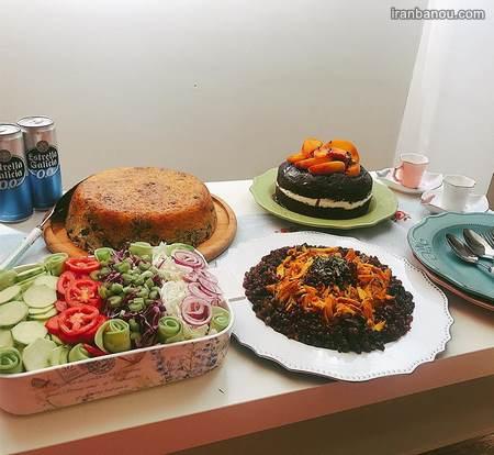 تزیین غذا و دسر