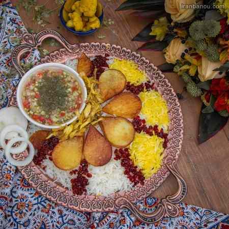 دیزاین غذاهای ایرانی