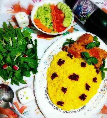 شام برای مهمانی خودمانی