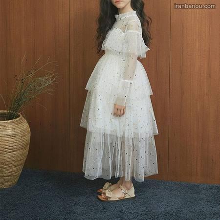 لباس فانتزی دخترانه مجلسی