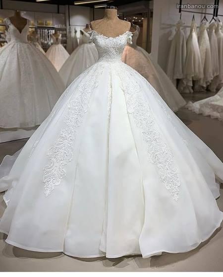 مدل لباس عروس پرنسسی جدید