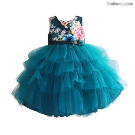 لباس مجلسی شیک بچه گانه دخترانه