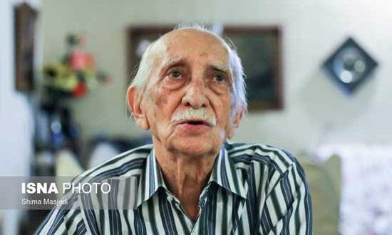 داریوش اسدزاده در سن ۹۶ سالگی درگذشت