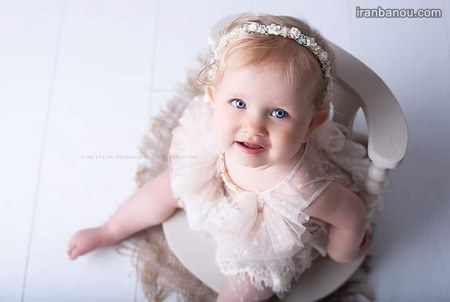 عکس بچه ناز چشم رنگی