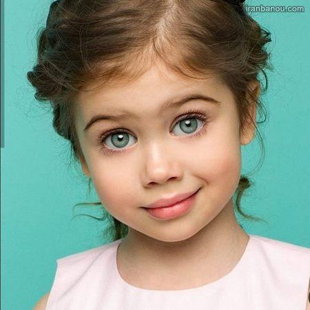 دختر بچه خوشگل و ناز