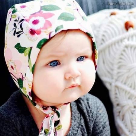 عکس بچه ناز دوقلو