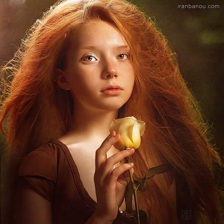عکس دختر بچه گریان