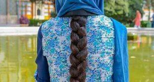 عکس دختر از نماي پشت سر