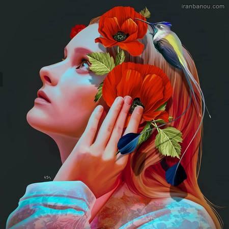عکس هنری دخترانه برای پروفایل