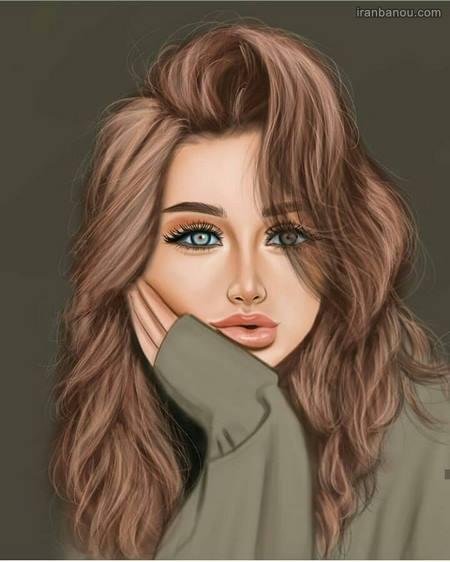 عکس نیمرخ دختر خوشگل