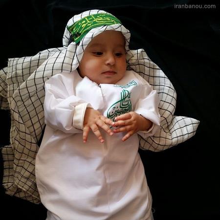 مدل لباس شیرخوارگان حسینی دخترانه