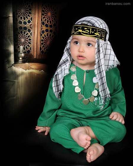عکس لباس شیرخوارگان حسینی