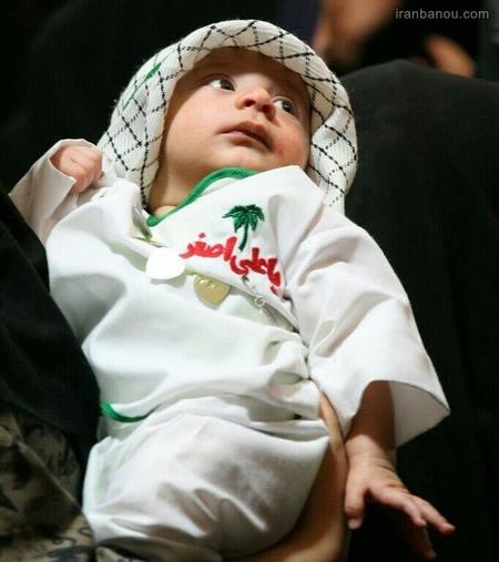 لباس همایش شیرخوارگان حسینی