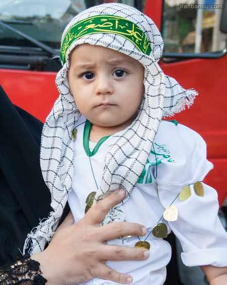 مدل لباس شیرخوارگان حسینی