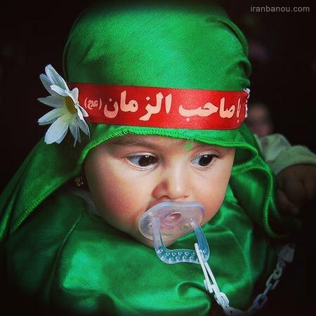 لباس شیرخوارگان علی اصغر