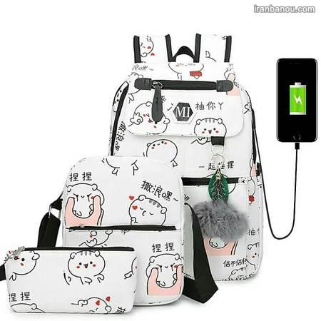 کیف مدرسه دخترانه نوجوان
