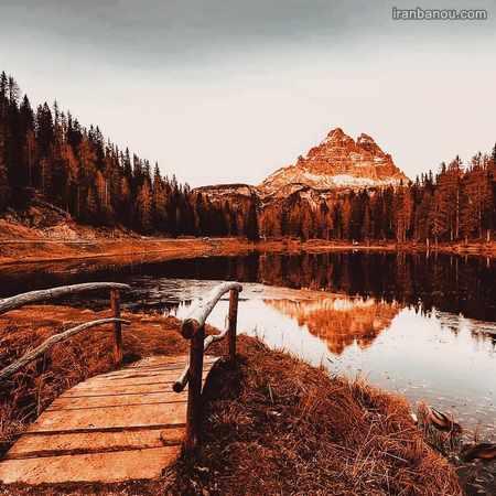 عکس طبیعت پاییزی با کیفیت بالا