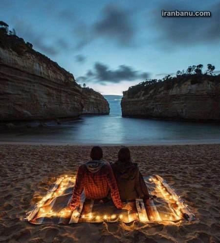 شب بخیر رمانتیک عاشقانه