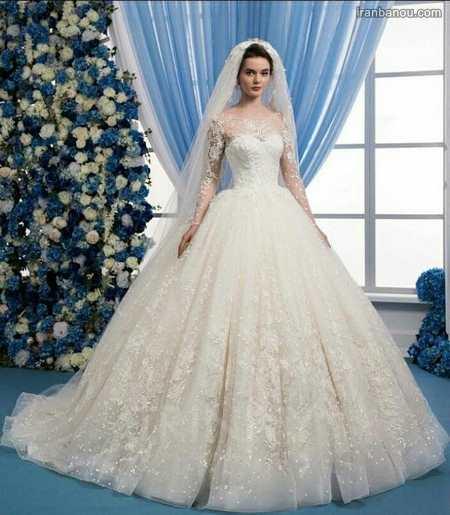 مدل لباس شیک عروس