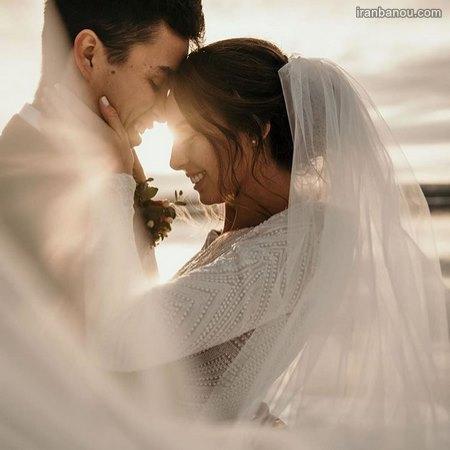 عکس عروس و داماد فانتزی