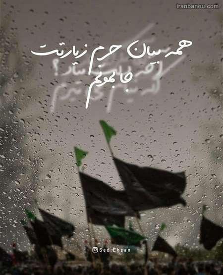 عکس پروفایل تسلیت اربعین حسینی