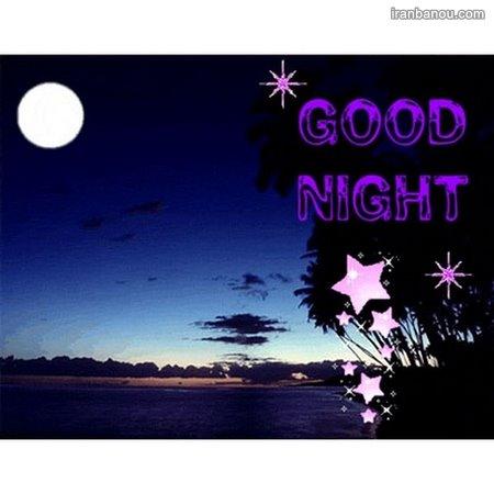 گیف شب بخیر عاشقانه