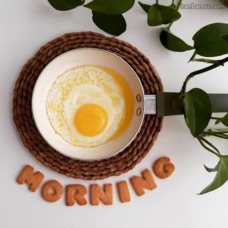 سلام صبح بخیر عزیزم به انگلیسی