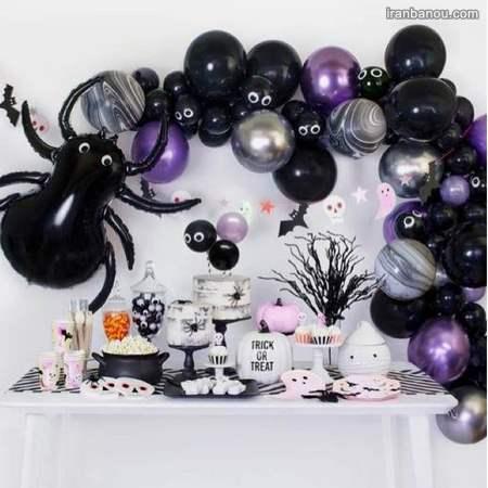 انواع تم هالووین جذاب | تزیینات جشن هالوین جدید
