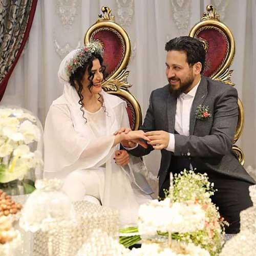 سینا شفیعی و همسرش