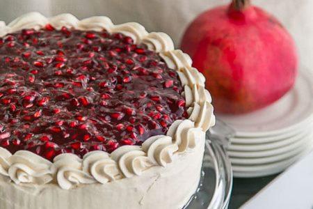 کیک انار | مخصوص شب یلدا
