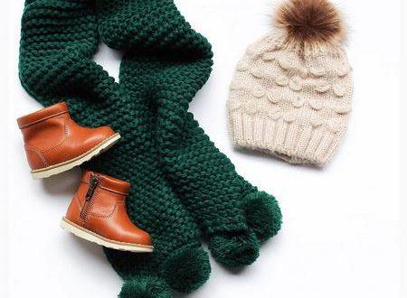 مدل کلاه و شال گردن های دخترانه و پسرانه