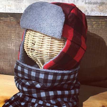 آموزش کلاه بافتنی بچه گانه