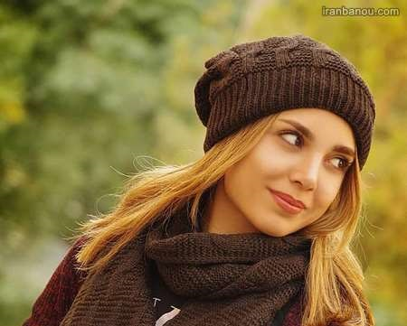 مدل شال و کلاه دخترانه جدید