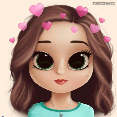 عکس پروفایل فانتزی دخترانه عروسکی