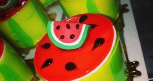 عکس کیک شب یلدا