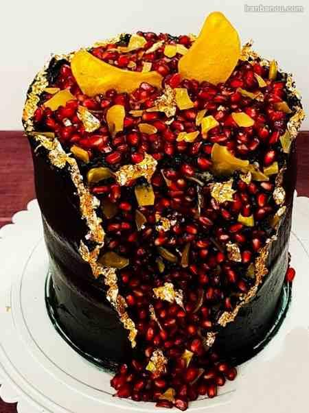 مدل کیک شب یلدا برای عروس